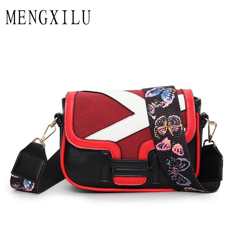 50c7dbd6016f MENGXILU Small Crossbody Bags For Women Embroidery Flap Women Messenger Bag  Flowers Strap Tote Designer Handbags High Quality Cute Purses Crossbody From  ...