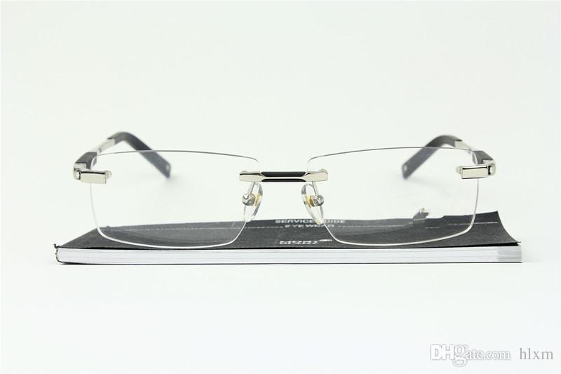 MB 뉴 아이 남성 안경 프레임 골드 실버 TR90 광학 유리 처방 안경 전체 프레임에 대한 0349 안경 프레임