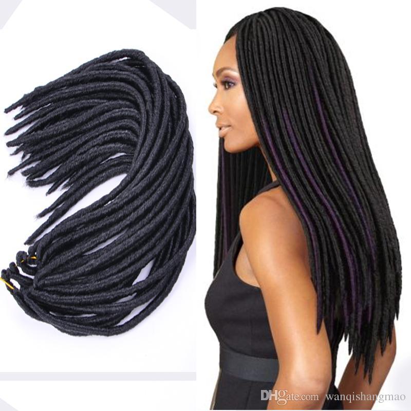 18 Inch Synthetic Faux Lock Twsit Braid Hair Kanekalon And Toyokaon