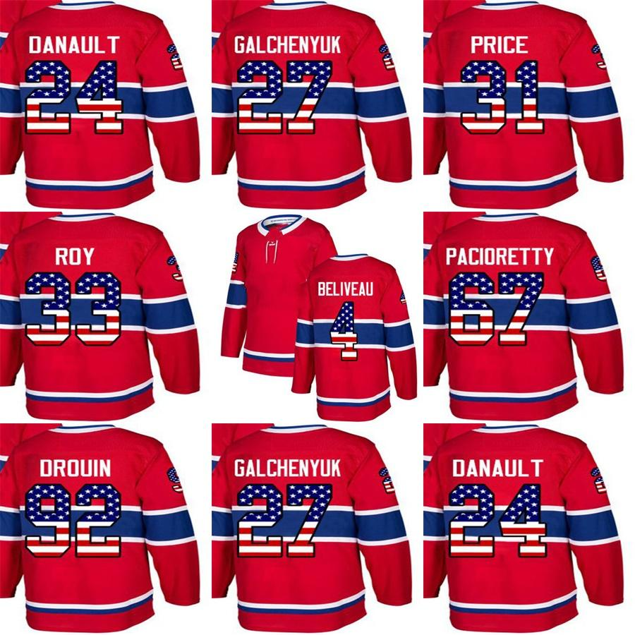 c58348123 ... order 2018 custom mens momens kids montreal canadiens 24 phillip  danault 31 carey price 33 patrick