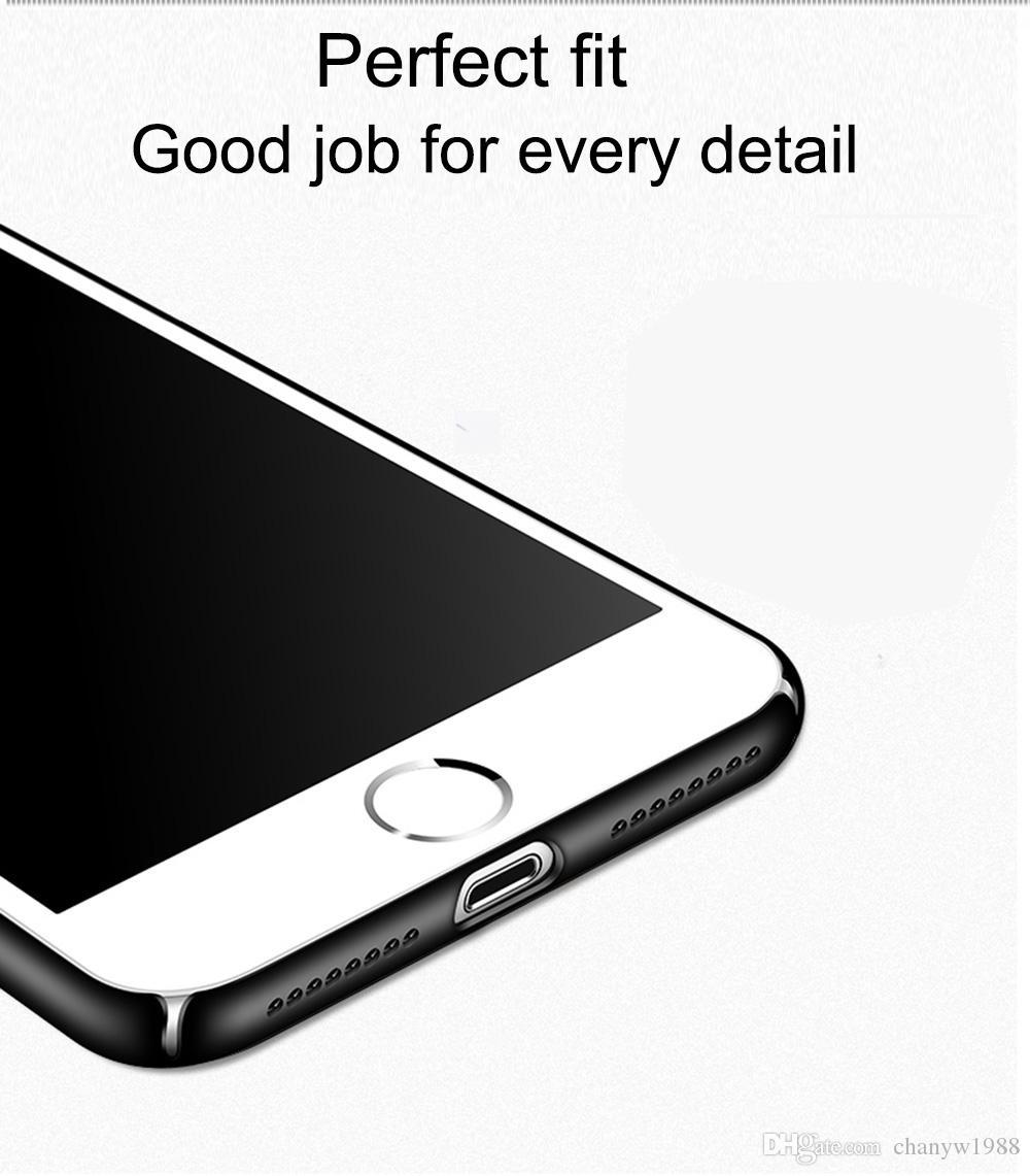 Blueshine thin Slim Case For iPhone 7 iPhone 6/6s iPhone 5 5s SE 6/6SPlus 7Plus Hard Cell Phone Cover Casing