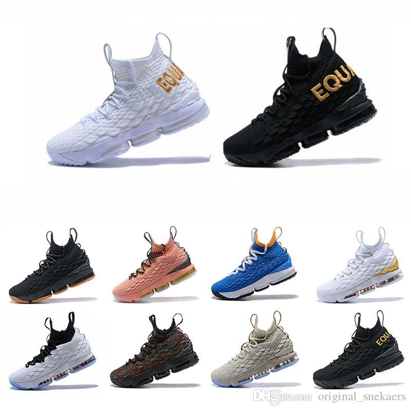 official photos e8bc7 42b04 Großhandel 2019 Neue Lebron James 15 Lakers Lila Regen Diamond Turf Männer  Basketball Schuhe Lebrons 15s Gleichheit Herren Xv Ports Sneakers Size7 12  Von ...