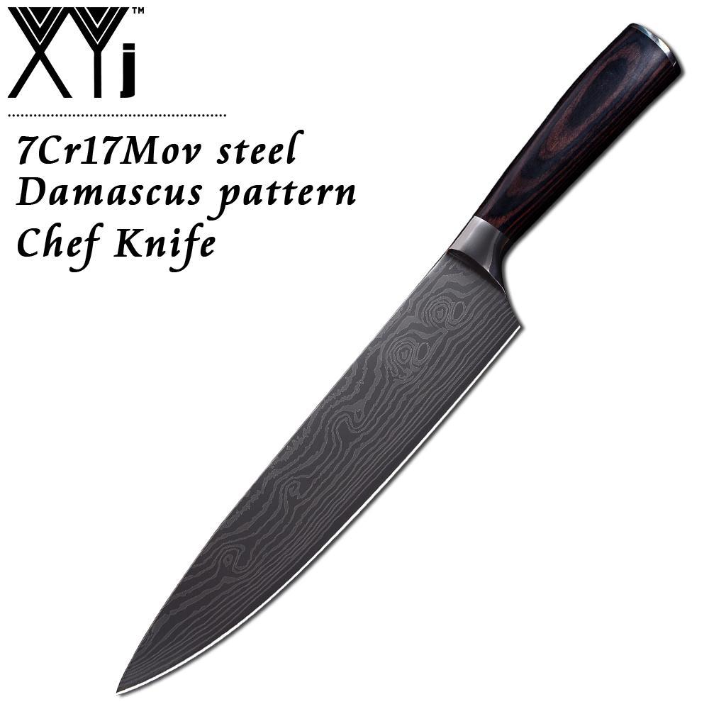 acheter xyj 8 pouce utilitaire chef en acier inoxydable couteaux