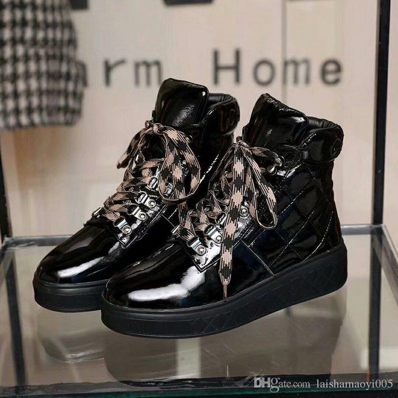 61e02d8e711 Wholesale Cheap red bottom sneakers Luxury mens womens matter leather with  Spike Studded high top sneakers,designer causal flat sports shoes