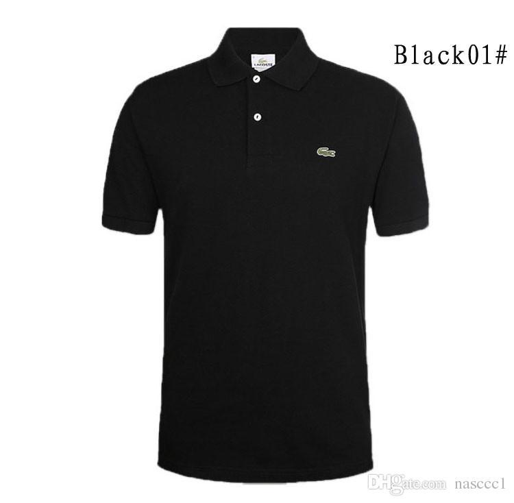 127dbe892c3 2019 New Brand Camisa Polos Shirt Men Design Breathable Cotton ...