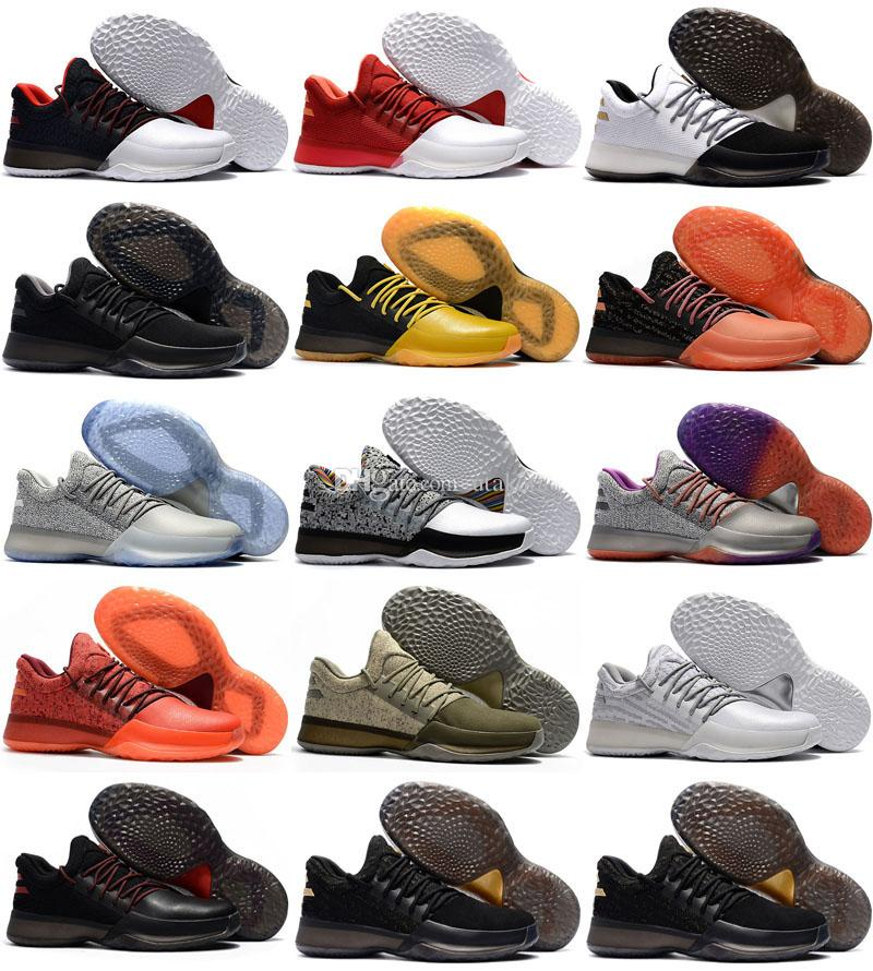 0124a38dc90b 2018 Hot Harden Vol. 1 BHM Black History Month Mens Basketball Shoes  Fashion James Harden Shoes Outdoor Sports Training Sneakers Size 40 46 Basketball  Shoes ...