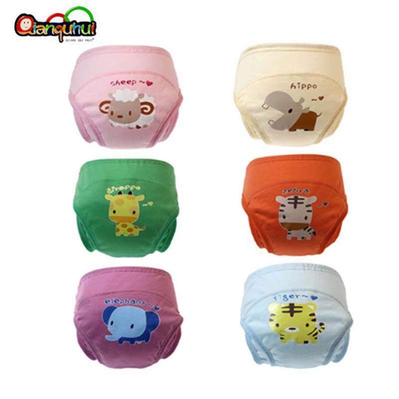 New Arrival Baby Diapers Reusable Cloth Nappy Waterproof Newborn Cotton Diaper Washable Children Training Pants Underwear