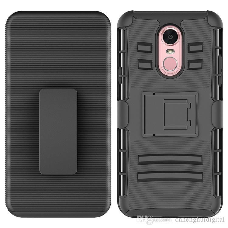 caixa do telefone para LG Stylo 4 K30 MOTO G6 jogo Clipe Caso Kickstand Refrigere Combo coldre de cinto Clipe de proteção tampa do telefone