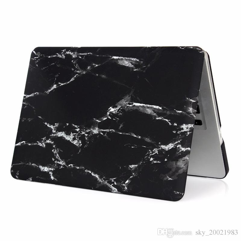 high quality Hard Marble Texture Rubberized Case Cover Protector Matte cover for Macbook 11 /12/13/15 inch