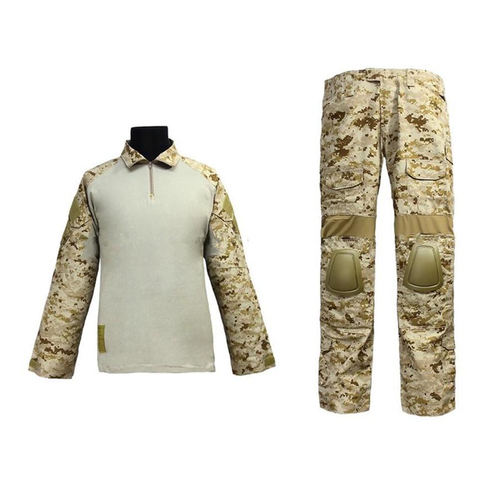 us army uniform for men training combat Navy Seals Combat Set BDU Uniform  (AOR1 MC AT Marpat Woodland)