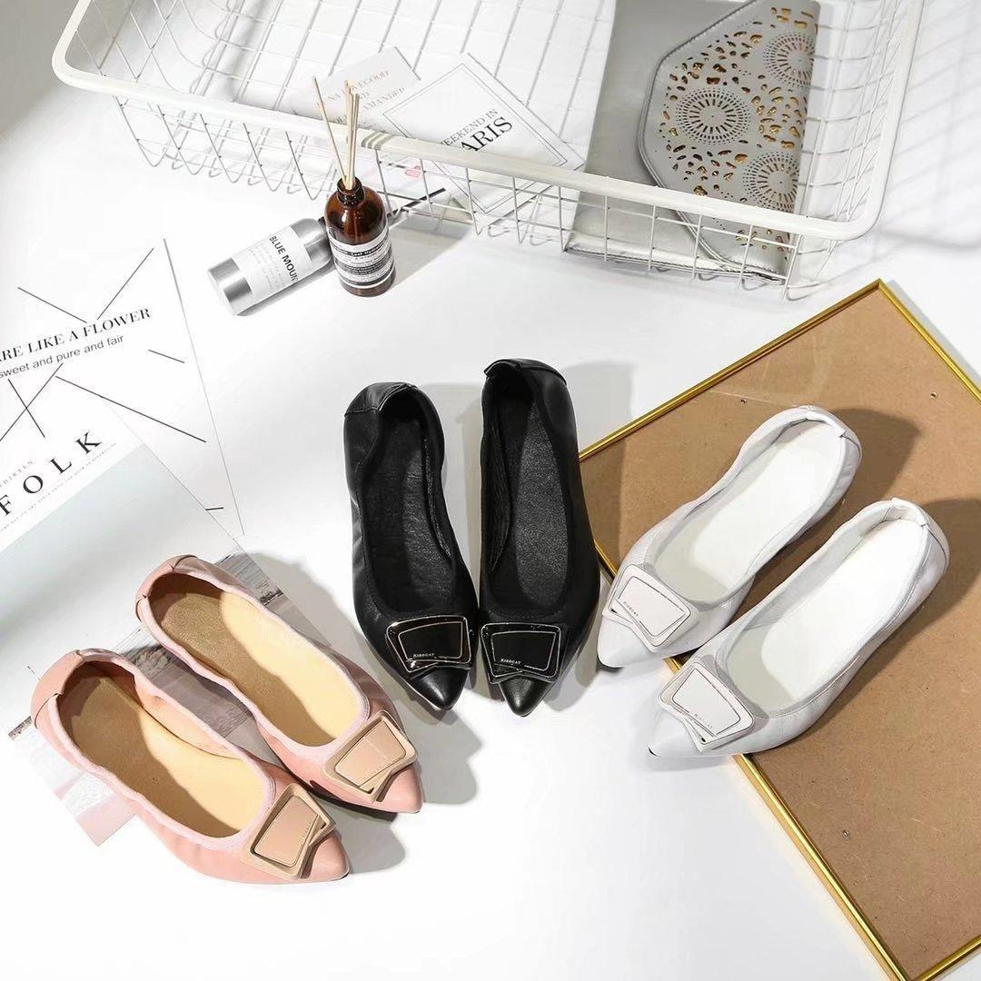 3e6c8f5d6 Women Shoes Low 2018 New Summer Fashion 5mm Back In Play Women'S Flat Heel  Black White Apricot Egg Roll Shoes 35 41code Promotion Men Sandals Heeled  Sandals ...