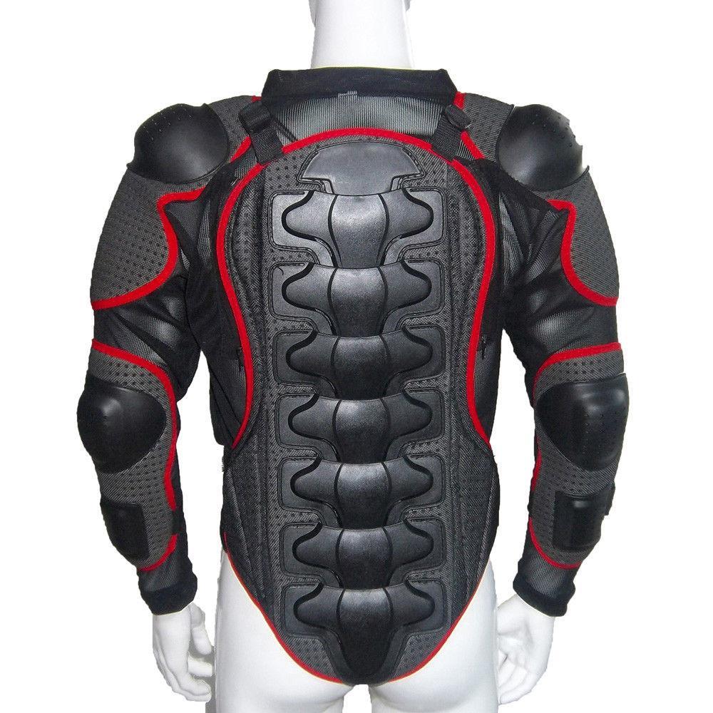 2018 Heißer Verkauf Radfahren Mountainbike Motorrad Körper Rüstung Jacke Motocross Full Body Protector Zurück Taille Racing Schutz Getriebe Automobile & Motorräder