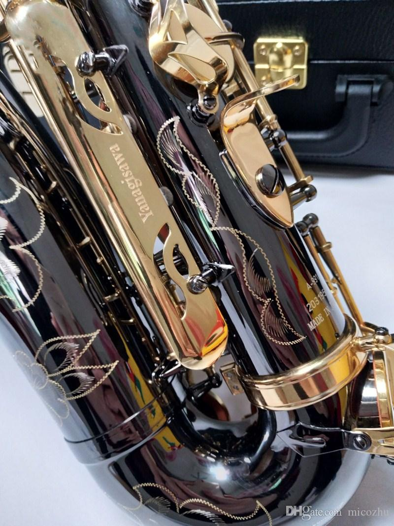 2018 Yeni Yanagisawa Eb Alto Saksafon Müzik Japonya Yanagisawa A-991 alto saksafon çalma müzik aletleri siyah profesyonel