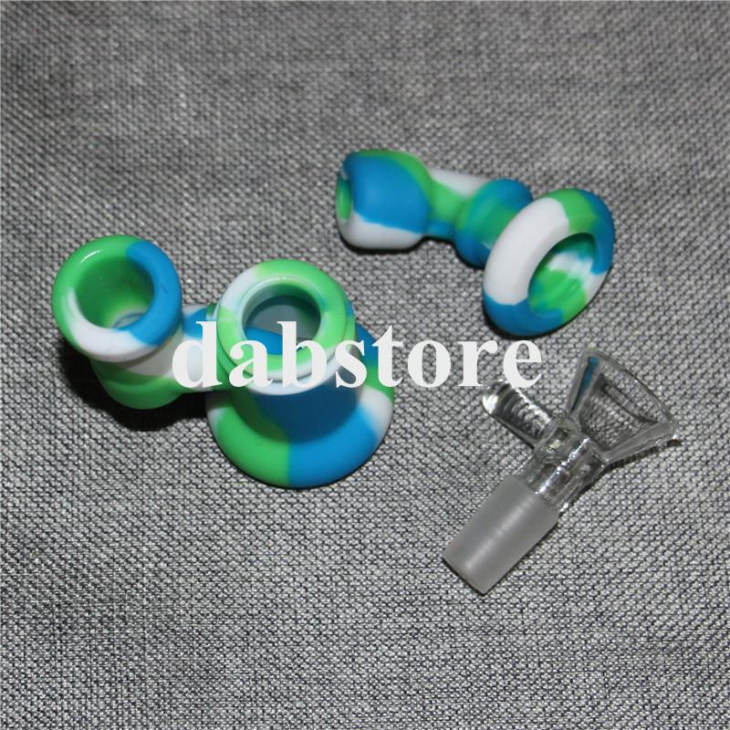 New design mini silicone water pipe bong silicone smoking pipes oil rig hookah silicone hand pipe bubble with glass bowl