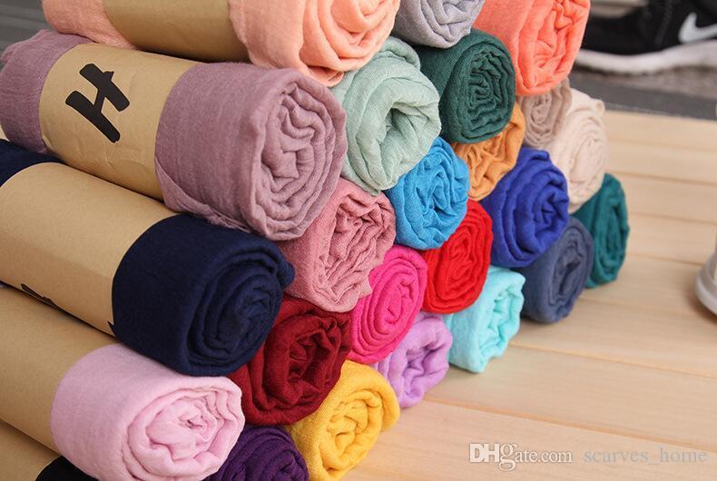 المصنع مباشرة الصلبة شال التفاف المرأة بنات السيدات وشاح الأوشحة الناعمة الوليد عدن أنيس قماط البطانيات 180 * 85 سنتيمتر