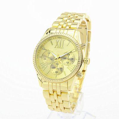 Ginebra Relojes de acero inoxidable Espléndido Lujo Moda Casual señora Peach bear Cuarzo Relojes analógicos Marca Reloj Hombre Casual Cool michael