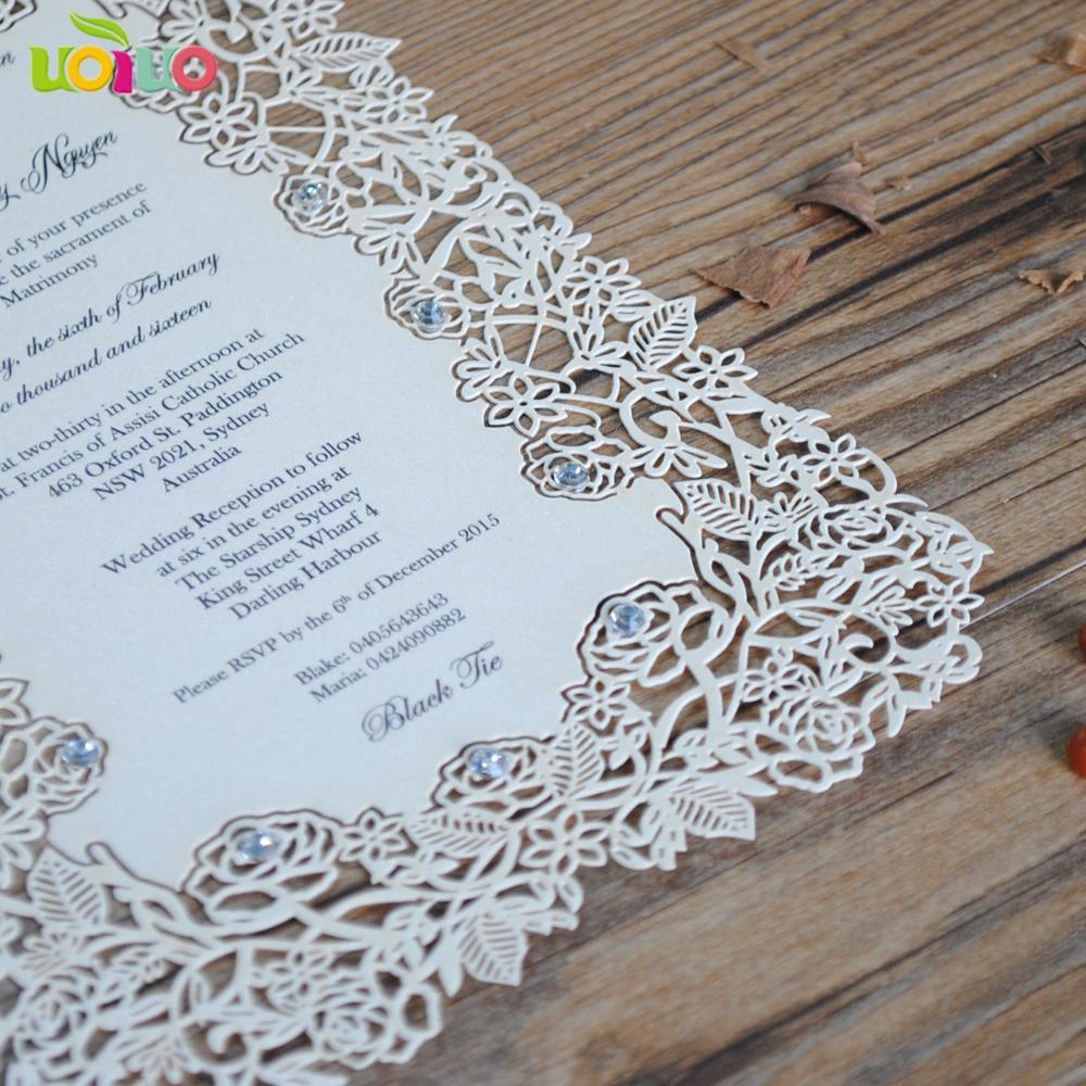Paper laser cutting invitation cardsrose lace design european paper laser cutting invitation cards roseg m4hsunfo