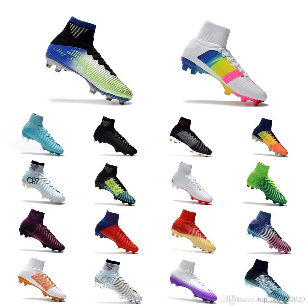 Cr7 New Shoes 2020 2019 Hots Sale Top Quality 2018 CR7 Football Boots Mercurial
