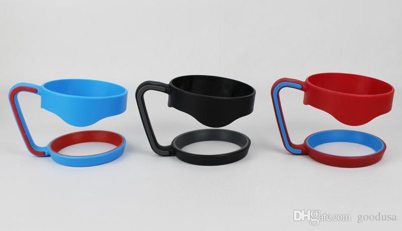 30 oz 20 oz Taşınabilir Plastik El kolu Tutucu Kupalar Taşınabilir El Tutucu Ile 20 oz 30 oz Bardaklar Kolu Via DHL Ücretsiz