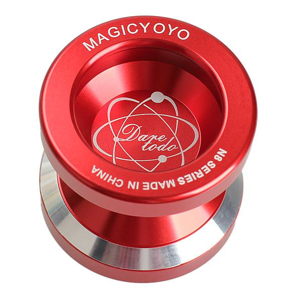 New Fashion Magic YOYO N8s Professional Alloy Aluminum Metal YO-YO Classic Toys Gift For Kids Children Yoyo with String