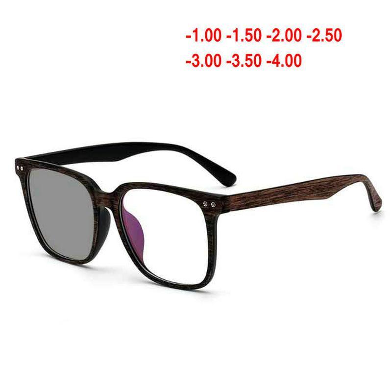 095d6d764c 2019 Square Eyeglasses Frames Clear Lens Optical Frame Wooden Imitation Prescription  Glasses Optical Color Changing Glasses Men NX From Mudiaolan