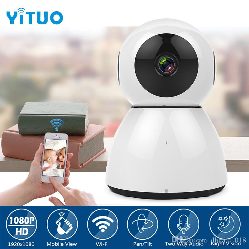 Snowman WIFI 1080P IP Camera Wireless Video Baby Monitor High Resolution  Baby Monitor Nanny 2 0MP Security Camera YITUO