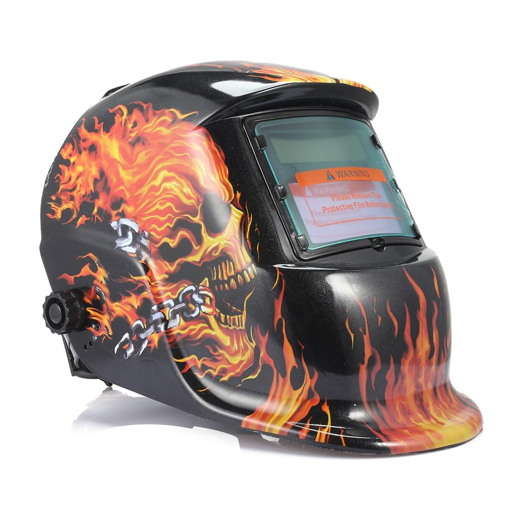 Solar Auto Darkening Welding Mask Helmet Electric Weld Cap Solar Auto Darkening Electric Welding Lens For Welding Machine Helmets