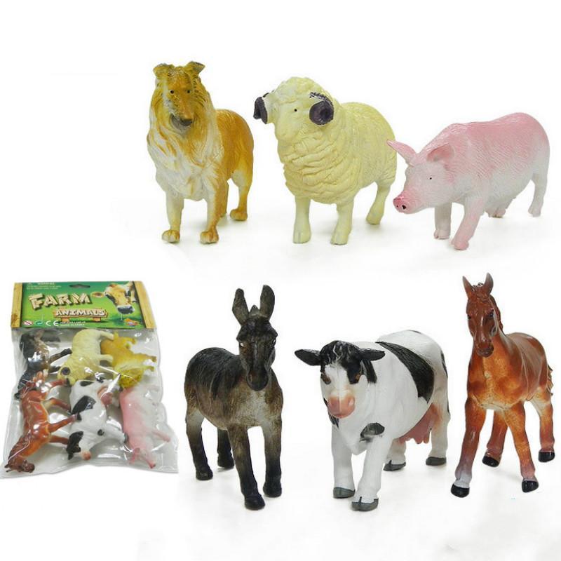 Großhandel Simulation Farm Tiermodelle Für Kinder Spielzeug Pro ...