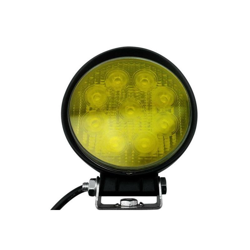 1x 27W 12V// 24V LED Work Light Offroad Car Van Truck Tractor Boat Spotlight