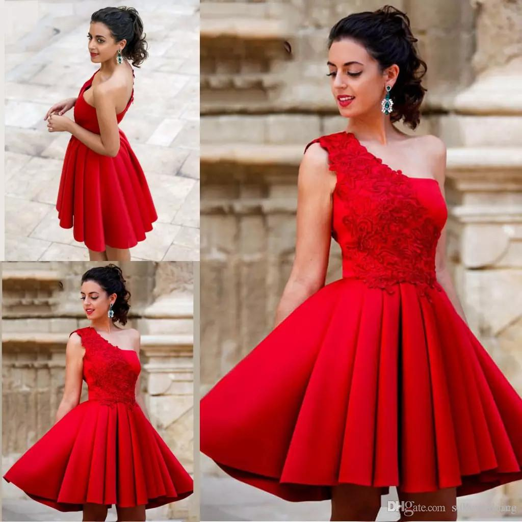 Rote kleider mini