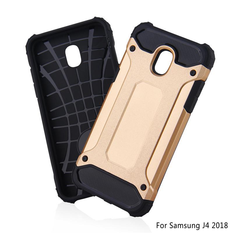 Tough Armor Hybrid Rugged Impact PC Funda de TPU para Samung A8 Plus J3 J7 J4 J6 J8 2018 RedMi S2 XiaoMi Mi 6 6A Pro A2 Lite Huawei Y5 Y6 Prime