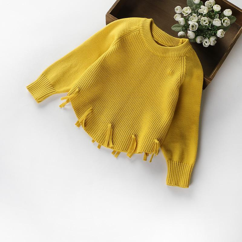 1c4b309d4215 Mottelee Girls Sweater 2018 New Autumn Winter Knit Cardigan Girls ...