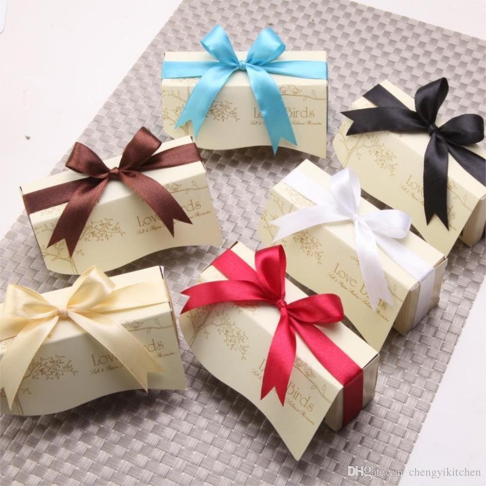 / = de mariage décoration faveur-nouveau cadeau de fête, en céramique amour oiseaux sel poivre shaker