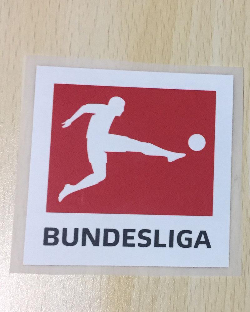 1718 BUNDESLIGA soccer Patch set Germany League soccer PU material patch