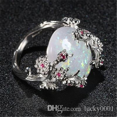 2018 новый роскошный Дерево жизни австралийский Fortune Lucky богиня кольцо мода личность тенденция лето Lady'S кольцо Оптовая