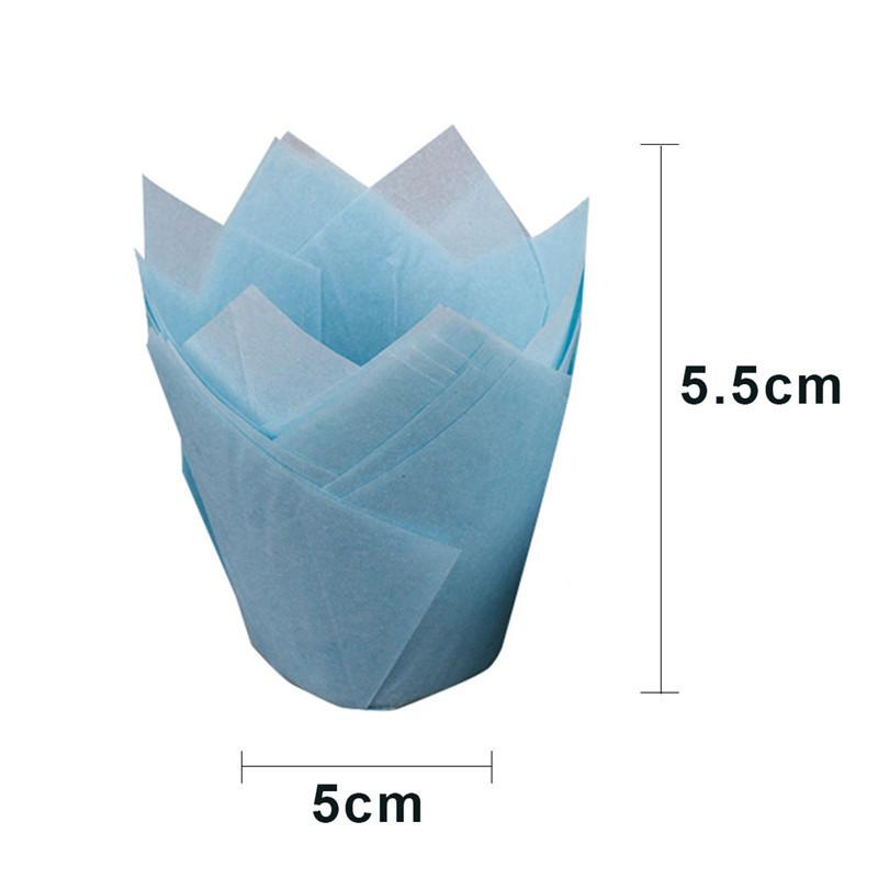 Simple Solid Paper Cupcake Liners for Wedding Muffin Wraps Patty Cases Cup Cake Liner Party Supplies