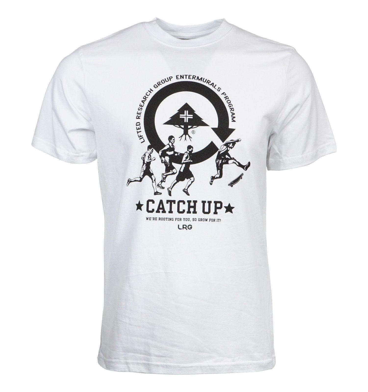 2e6ab83cd6eaf LRG LIFTED RESEARCH GROUP MENS CATCH UP T SHIRT Vintage T Shirts Band T  Shirts From Customizedshirts46