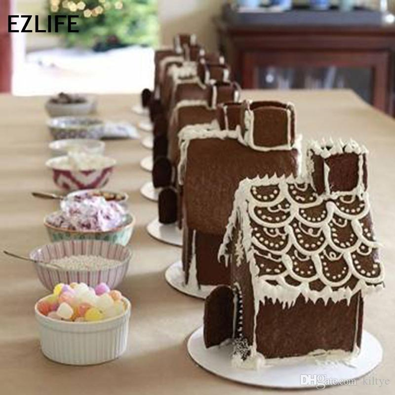 Magnificent Wholesale 3D Fairy House Door Silicone Fondant Mould Ice Cube Tray Cake Chocolate Mold For Diy Cake Decorating Tool Kt0411 Download Free Architecture Designs Scobabritishbridgeorg