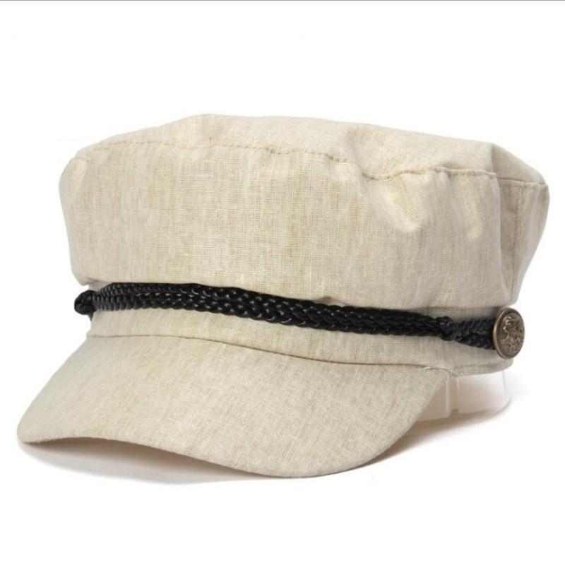 bae16e05b Seioum Fashion black hat cap women Casual streetwear rope flat cap Elegant  solid autumn winter warm beret hat female 2018 new
