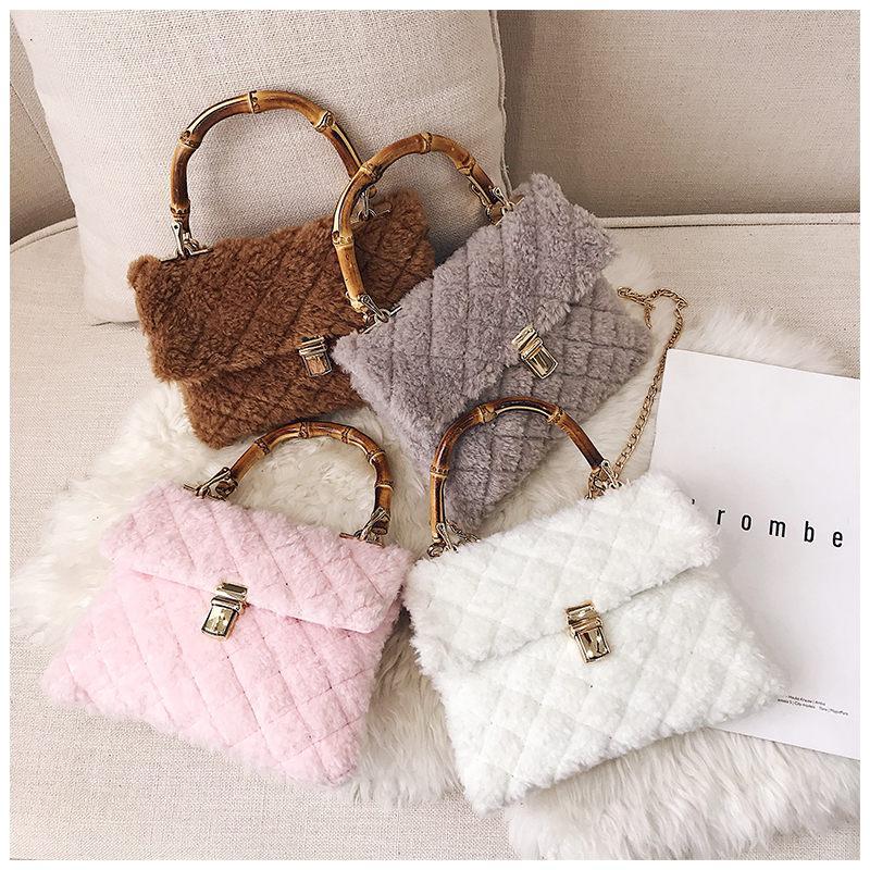 05a007d4882a Bolso Mujer Small Flap Fur Handbag Women Messenger Bags Chain Lock Ladies  Shoulder Crossbody Bags For Women Female Clutch Bag Satchel Bags Man Bags  From ...