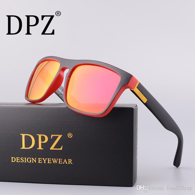 c491a07005 Compre 2018 DPZ Diseñador De La Marca De Lujo Gafas De Sol Polarizadas  Aviación De Los Hombres Gafas De Sol Masculinas Gafas De Sol Para Hombres  Retro 731 ...