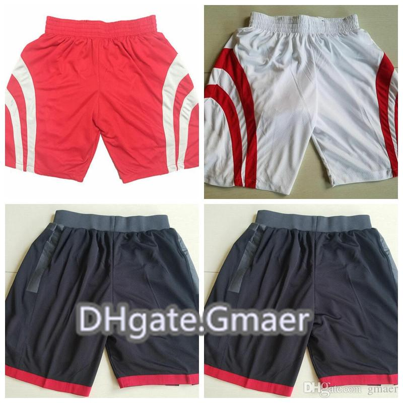 aa8308c9cf9 2019 2018 New James Harden Basketball Shorts Men Chris Paul New Breathable  Sweatpants Team Classic Sportswear Wear Shorts Black Red White Pant From  Gmaer
