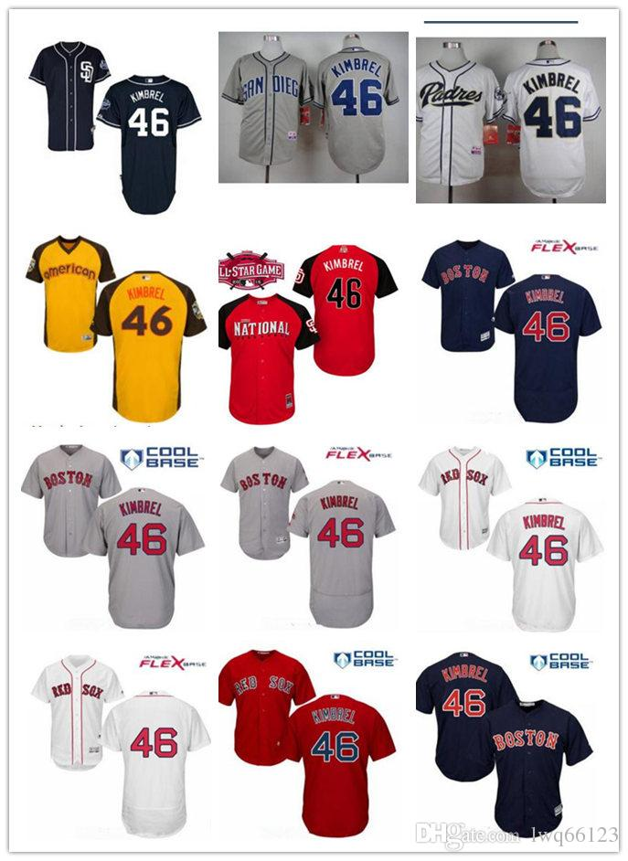 competitive price 80116 13d93 new style kimbrel craig 46 jersey baseball 619fb 50821