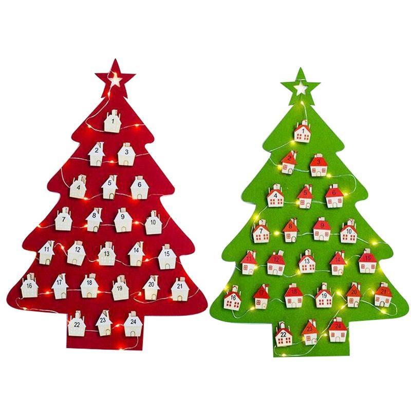Calendario Dellavvento In Feltro.Gnhyll Data 1 31 Calendario Dell Avvento Del Feltro Decorazione Dell Anno Nuovo Albero Di Natale Conto Alla Rovescia Calendario Ornamenti Appesi