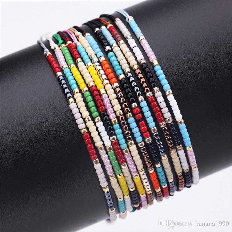 Großhandel 2018 Günstige Handgemachte Miyuki Rocailles Armband ...