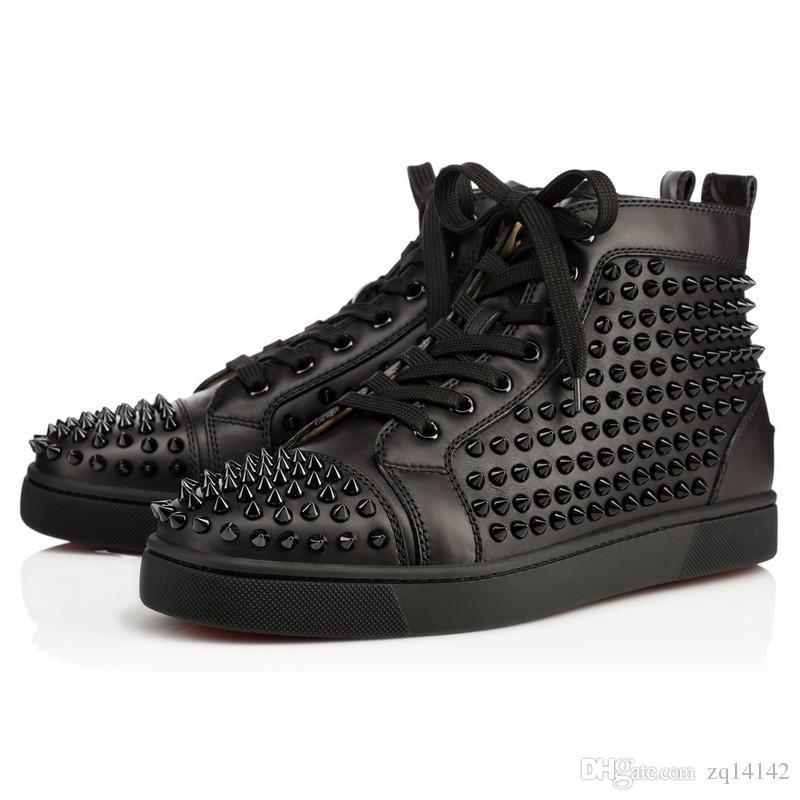 9f74428319fd Original Box Vogue Men Shoes Red Bottom Sneaker Luxury Party Wedding ...
