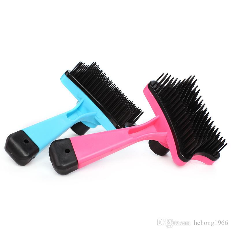 Easy Cleaning Detachable Pet Combs Puppy Hair Care Grooming Plastic Brushes Help Tidy The Pet Practical Mini Supplies 3 7dc Z