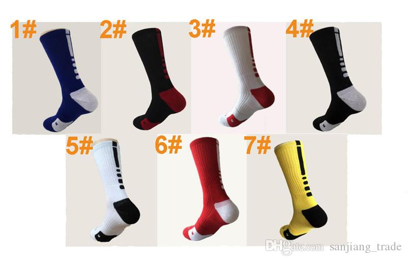 Men Socks Long Knee Football Basketball Athletic Sport Socks Men Fashion Compression Thermal Winter Good Quality Socks