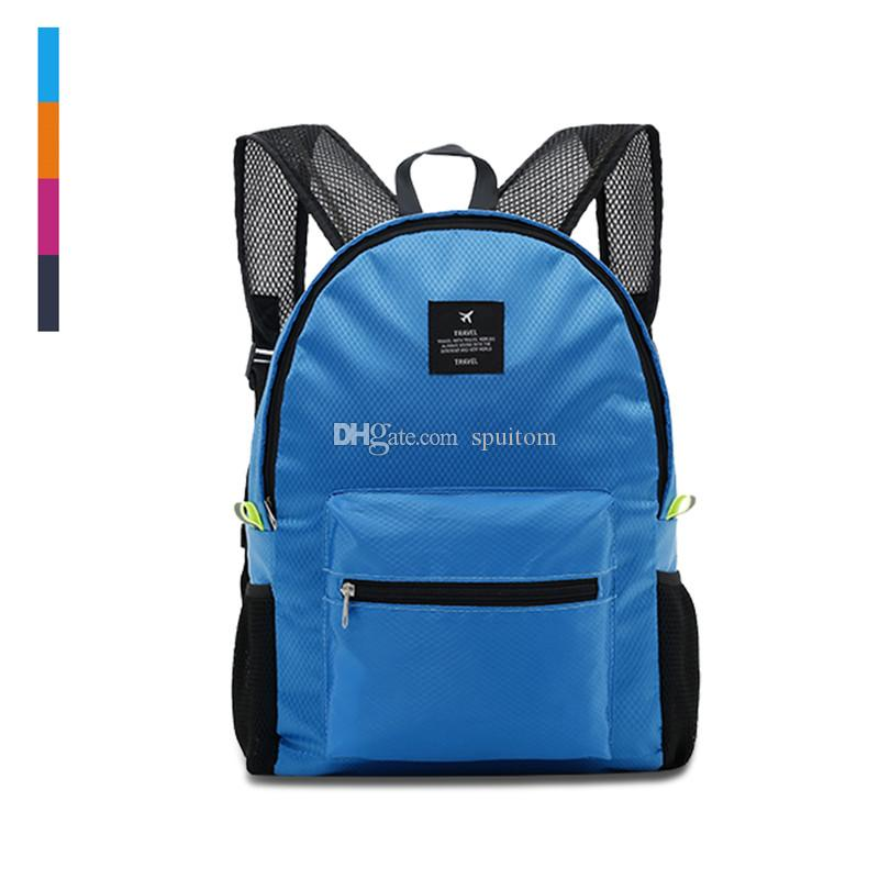 2815e872f 2019 Spuitom 20L Nylon Lightweight Packable Backpack, Durable Waterproof  Foldable Camping Cycling Outdoor Daypack Choices From Spuitom, $14.67 |  DHgate.Com