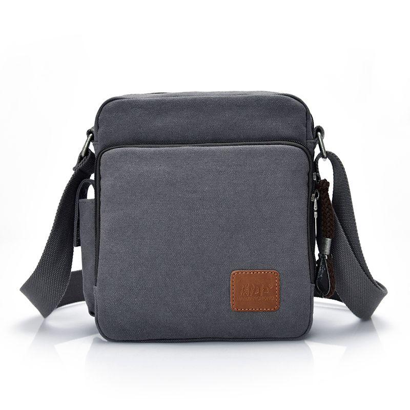Fashion Canvas Messenger Bag Men Women Multi Functional Casual Men Shoulder  Crossbody Bags Leisure Satchel Bag Handbag 1092 C S Shoulder Bags Leather  Bags ... 2c564a983